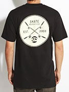 Skate Warehouse Crossed Up T-Shirt