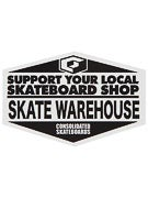 Skate Warehouse Support Sticker