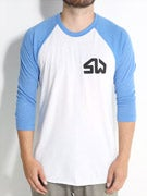 Skate Warehouse 3/4 Sleeve Icon Raglan Shirt