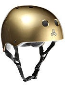 Triple 8 Brainsaver Helmet  Metallic Gold