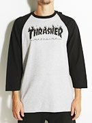 Thrasher Flame Raglan Shirt
