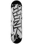 Think Spray Tag Black/White Deck  7.62 x 30.75