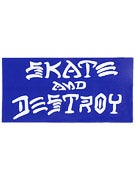 Thrasher Skate And Destroy Large Sticker Blue