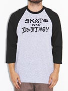 Thrasher Skate and Destroy Raglan Shirt