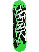 Think Spray Tag Green/White Deck  8.25 x 31.875