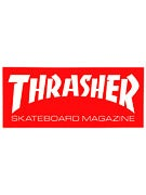 Thrasher Skate Mag Logo Medium Sticker Red