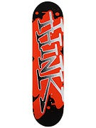 Think Spray Tag Black/Orange Deck 7.7 x 31.7