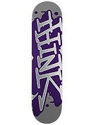 Think Spray Tag Silver/Purple Deck  7.6 x 31.5