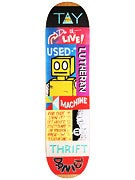 Toy Machine Lutheran Signs Deck 8.0 x 31.6