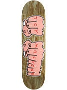 Toy Machine Woodgrain Fists XL Deck  8.5 x 32.125