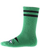Toy Machine Sect Eye III Crew Socks Green