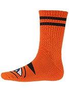 Toy Machine Sect Eye III Crew Socks Orange