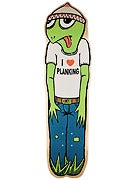 Toy Machine Turtle Boy Planking Deck  8.25 x 32.75