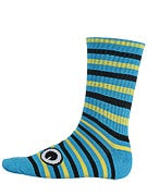 Toy Machine Turtle Stripe Crew Socks
