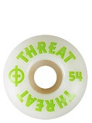 Threat by Zero Standard White/Green Wheels