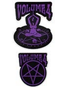 Vol 4 Ritual Sticker Purple (2 pack)