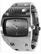 Vestal Destroyer Watch  Silver/Black/Brushed