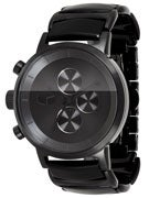 Vestal Metronome Acetate Watch Black/Black/Black