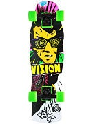 Vision Psycho Stick White Mini Cruiser Comp.  8.25x28.5