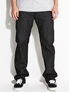 Volcom Stone Age Five Down Jeans  S-Gene Black