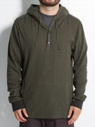Volcom Keen Hooded Thermal Pullover Shirt