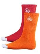 Volcom Full Stone Socks Orange/ORG