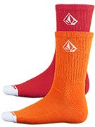 Volcom Full Stone Socks Orange/ORG