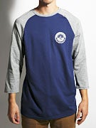 Volcom Global Connotations 3/4 Raglan T-Shirt