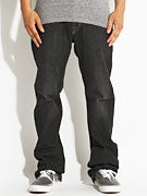 Volcom Kinkade Jeans  Black Light
