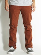 Volcom Nova SGene Colored Denim  Chestnut Brown