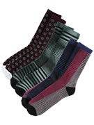 Volcom Stripe 3 Pack Socks