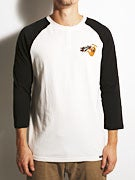 Volcom x Toy Machine 3/4 Sleeve Henley Shirt