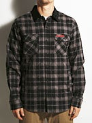 Volcom x Toy Machine Quilted Flannel Shirt Jacket