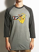 Volcom x Toy Machine 3/4 Sleeve Raglan Shirt