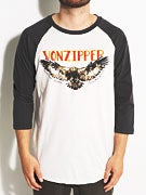 Von Zipper Giving Birds 3/4 Sleeve Shirt