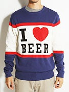 Von Zipper I Heart Beer Sweater
