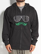 Von Zipper New Stache Hoodzip