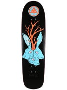 Welcome Bunnyheads on Planchette Black Deck  8.8 x 32.6