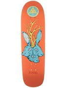 Welcome Bunnyheads on Planchette Peach Deck  8.8 x 32.6