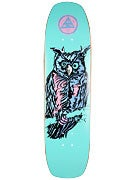 Welcome Owl on Wormtail Deck  8.4 x 32.5