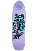 Welcome Owl V1 on Owl Claw Lavender Deck  8.5 x 32.6