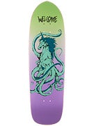 Welcome Seahorse on Magic Bullet Deck  9.5 x 32.75