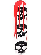 Zero 3 Skulls w/Blood White Deck  7.5 x 31.125