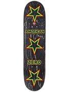 Zero American Zero Rasta Deck  7.875 x 31.75