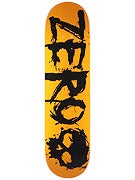 Zero Blood Orange/Black Deck  8.375 x 32.3
