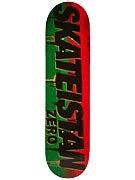 Zero Skateistan Stencil Deck  8.0 x 31.6