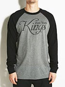 Zoo York Kings Script 3/4 Sleeve T-Shirt