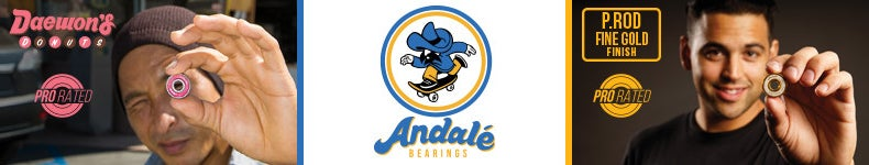 Andale Skateboard Bearings