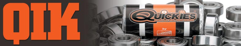 Quickies Skateboard Bearings