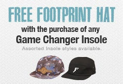 Footprint Game Changer Insole Promo
